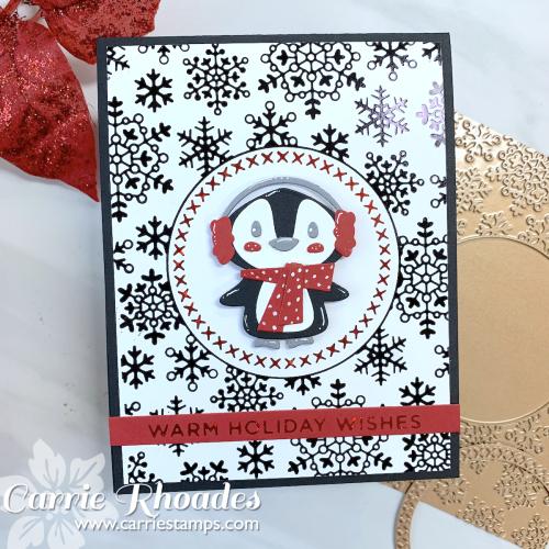 Snowflake glimmer bg 3