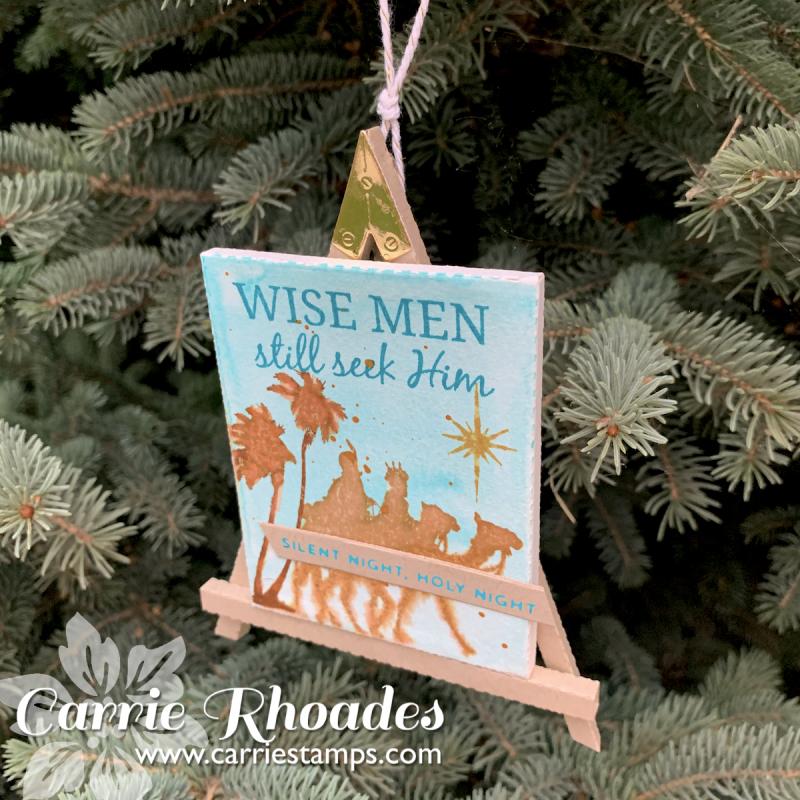 Easel ornaments 3
