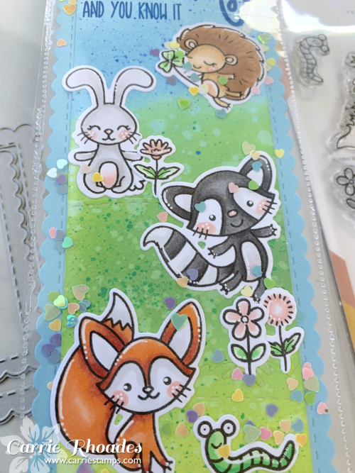 Bunny burrow bookmark 2