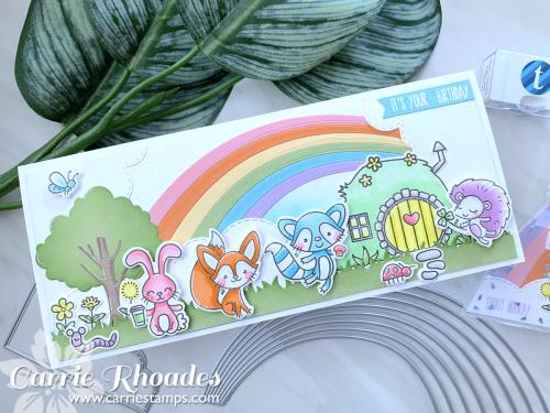 Bunny burrow rainbow 1