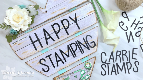 Happy stamping heart 4