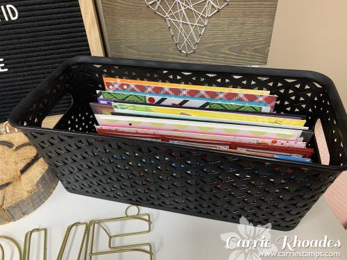 Target slimline basket
