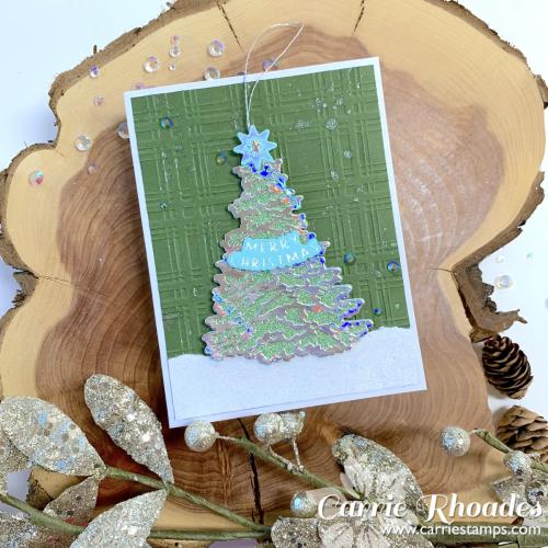 Trim a tree ornament 1