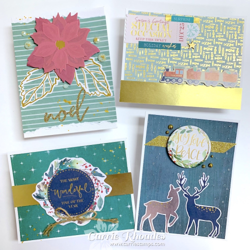 All Aboard Cards 1 - Carrie Rhoades