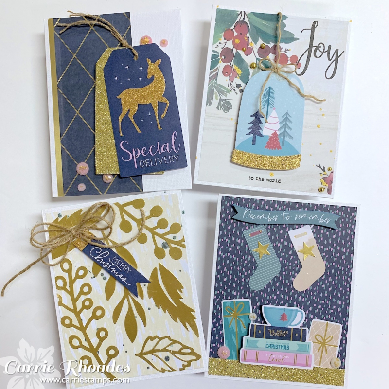 All Aboard Cards 2 - Carrie Rhoades
