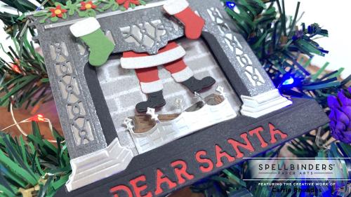 Santa's fireplace 1