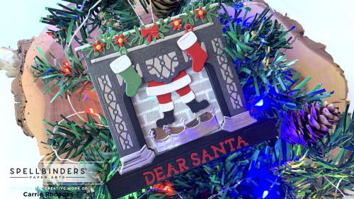 Santa's fireplace 2
