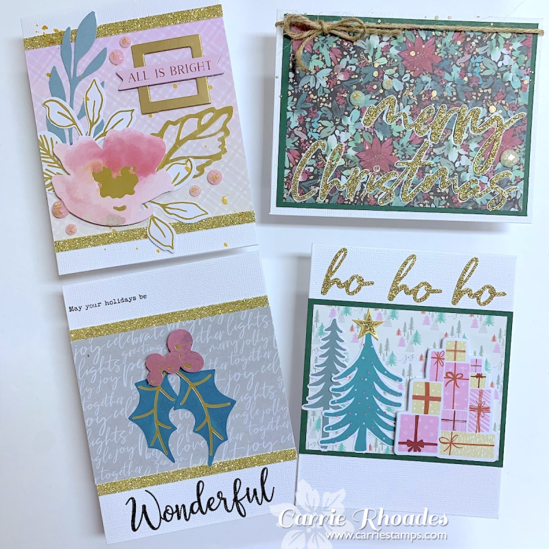 All Aboard Cards 5 - Carrie Rhoades
