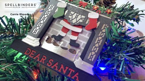 Santa's fireplace 4